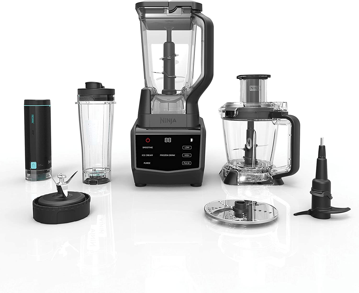 Ninja Smart Screen Blender and Food Processor with FreshVac Technology